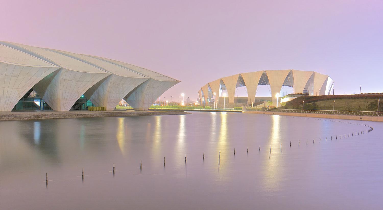 Orientálne-centrum-športov-v-Šanghaji