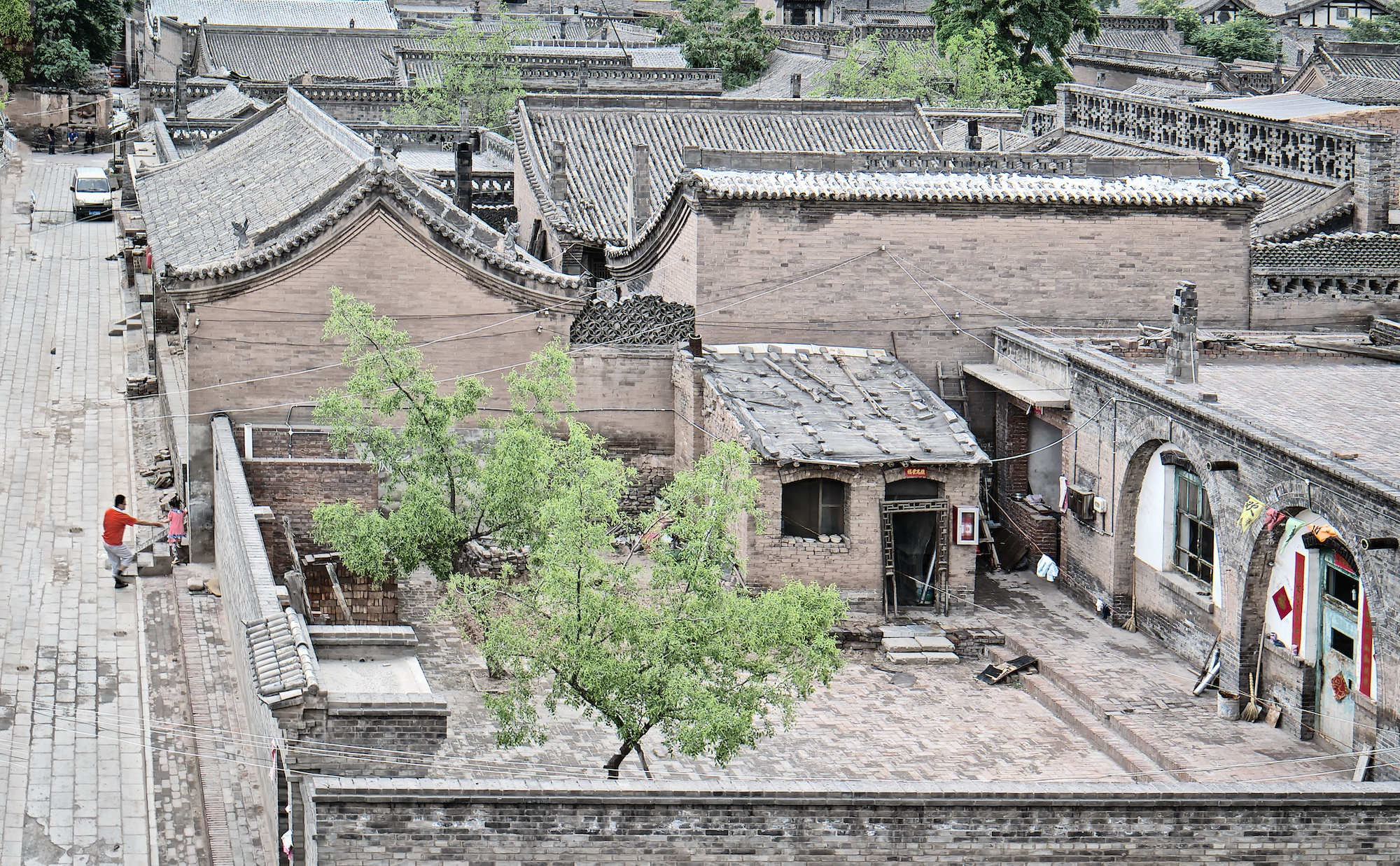 Pingyao old court