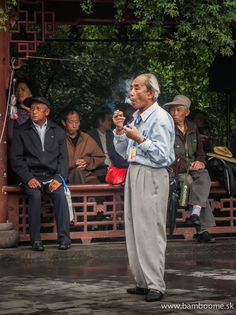 Pohodový život v meste Chengdu