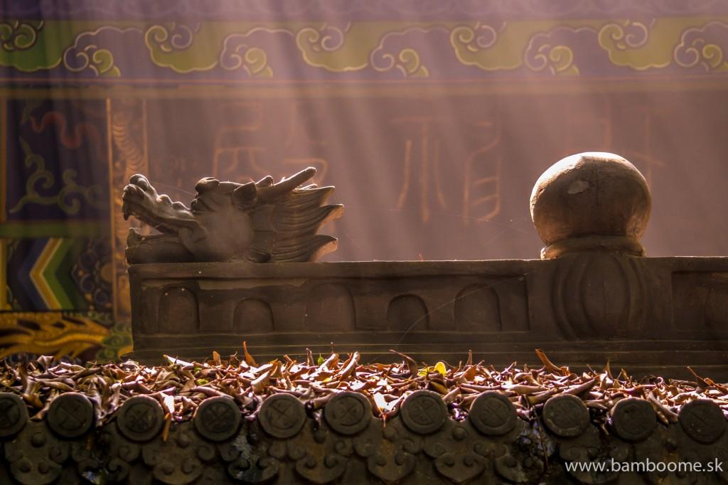 Výzdoba miestnych chrámov je najkrajšia v detailoch